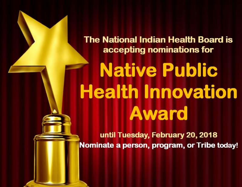 National Indian Health Board Funding Opportunities
