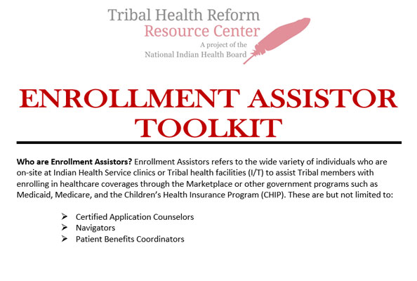 Nihb Tribal Health Reform Resource Center Tribal Health Reform